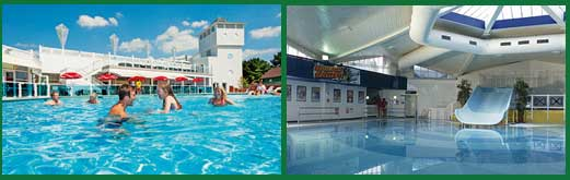Rockley Caravan Park Swimming Pools - indoor and outdoor pools