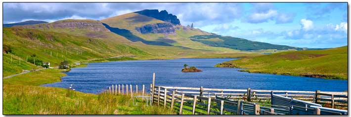 Scotland lochs and mountains