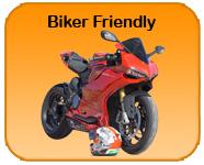 Biker friendly