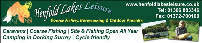 Coarse Fishery, Caravanning & Outdoor Pursuits